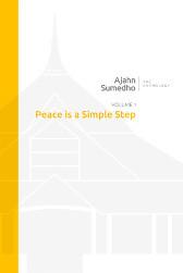 Ajahn Sumedho Anthology Volume 1 - Peace is a Simple Step