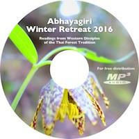 Western Disciples of Ajahn Chah-Abhayagiri 2016 Winter Retreat CD