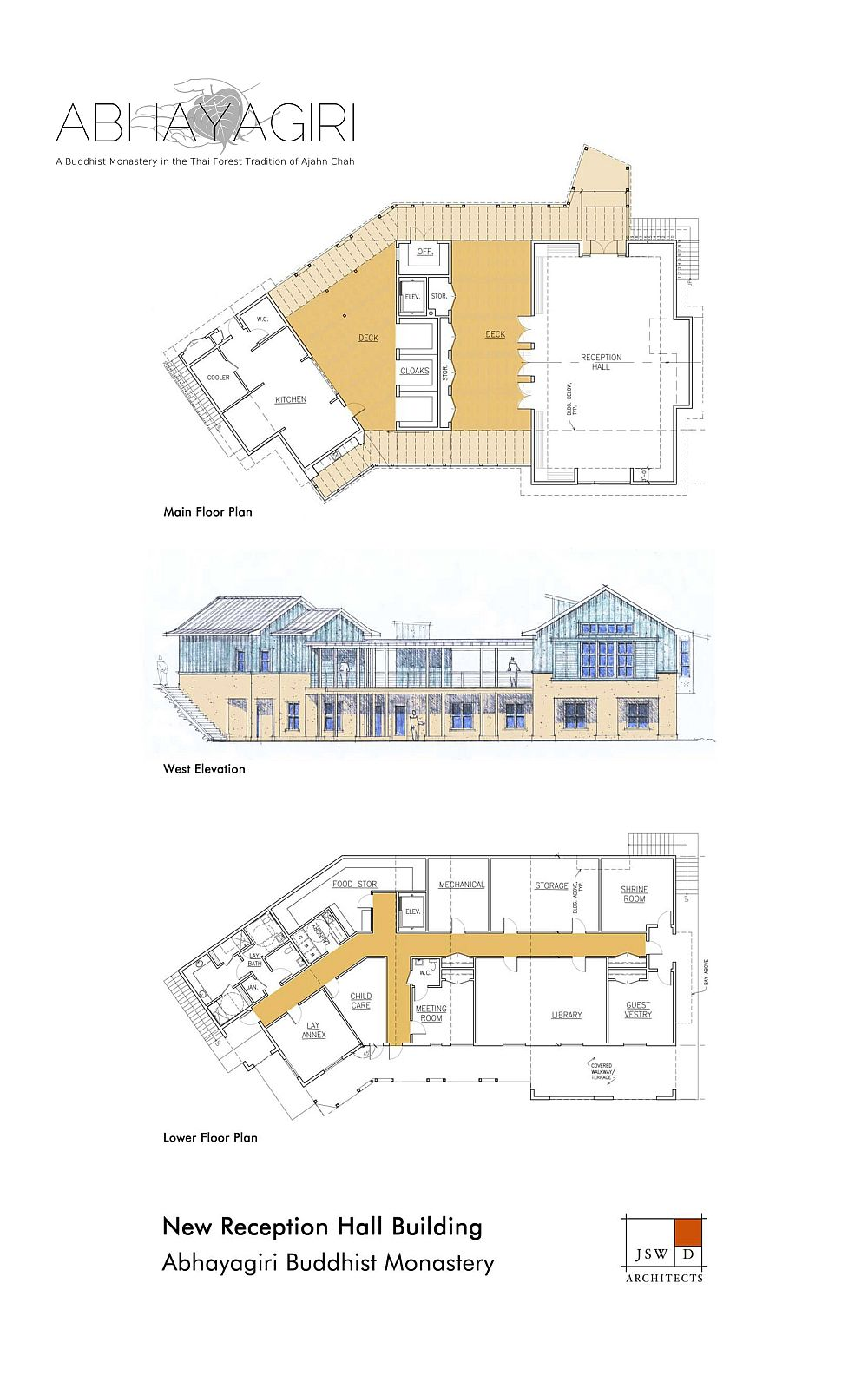 Reception hall plans