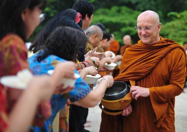 Luang Por Pasanno Birthday Celebration Cancelled