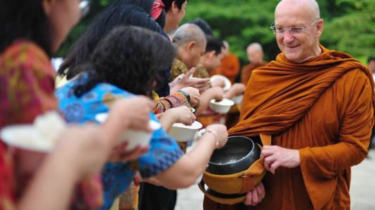 Luang Por Pasanno Birthday Celebration Cancelled