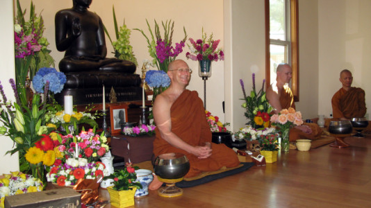 Ajahn Pasanno Question & Answer Session with Manijeh Motaghy