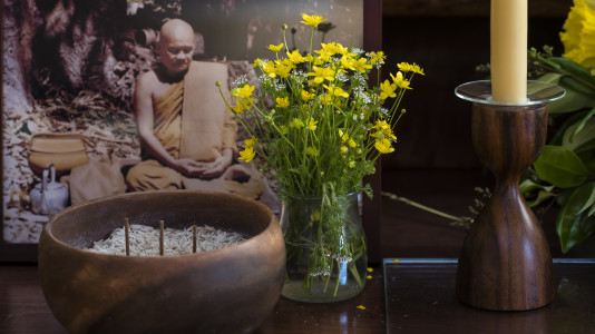 A Visiting Elder Talks About His Time as a Novice with Luang Por Chah